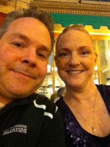 Hubby and Me in Vegas - 2013