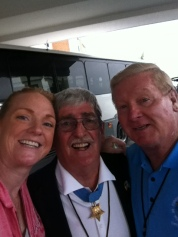 Medal of Honor Recipients Robert O'Malley and Sammy Davis and  Me